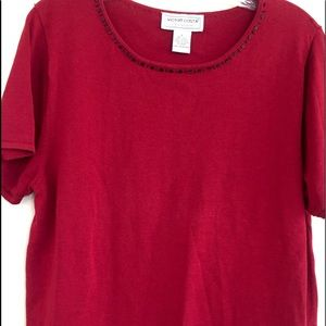Victor Costa Red Top